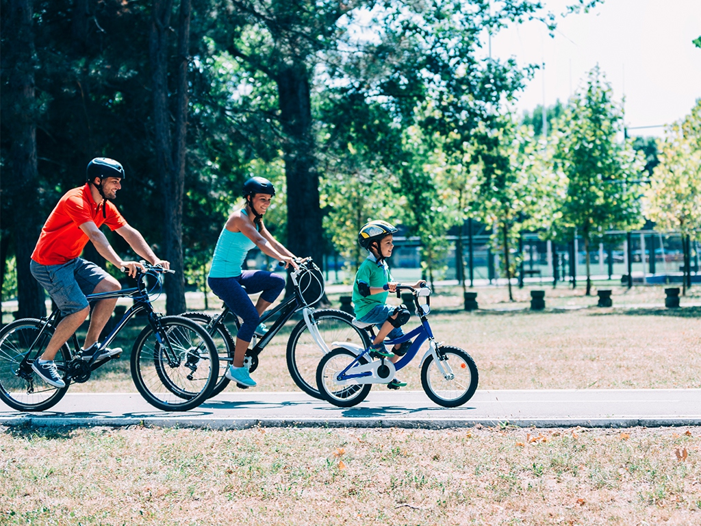 A new Town Center initiated a long-awaited bike trail in Boston's western suburbs. The trail is a recreational corridor for all ages in Weston and Wayland, Massachusetts.